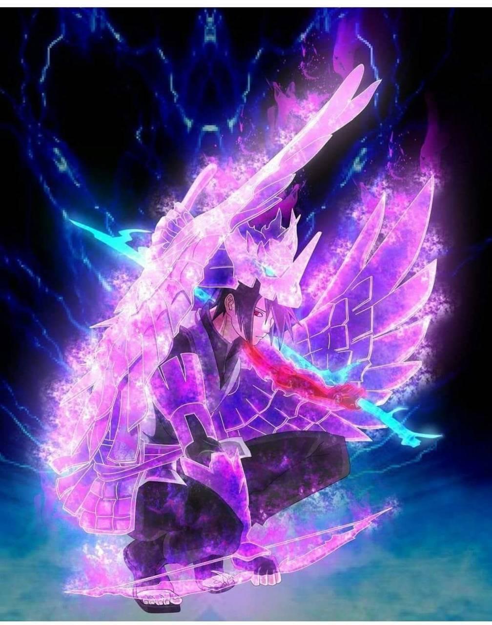 Sasuke amped