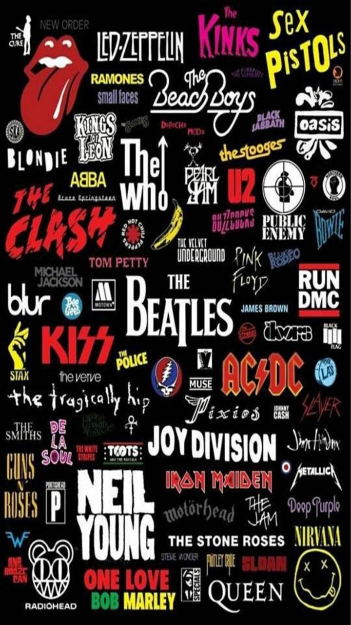 Rock n Roll wallpaper by Mrz_Jekyll
