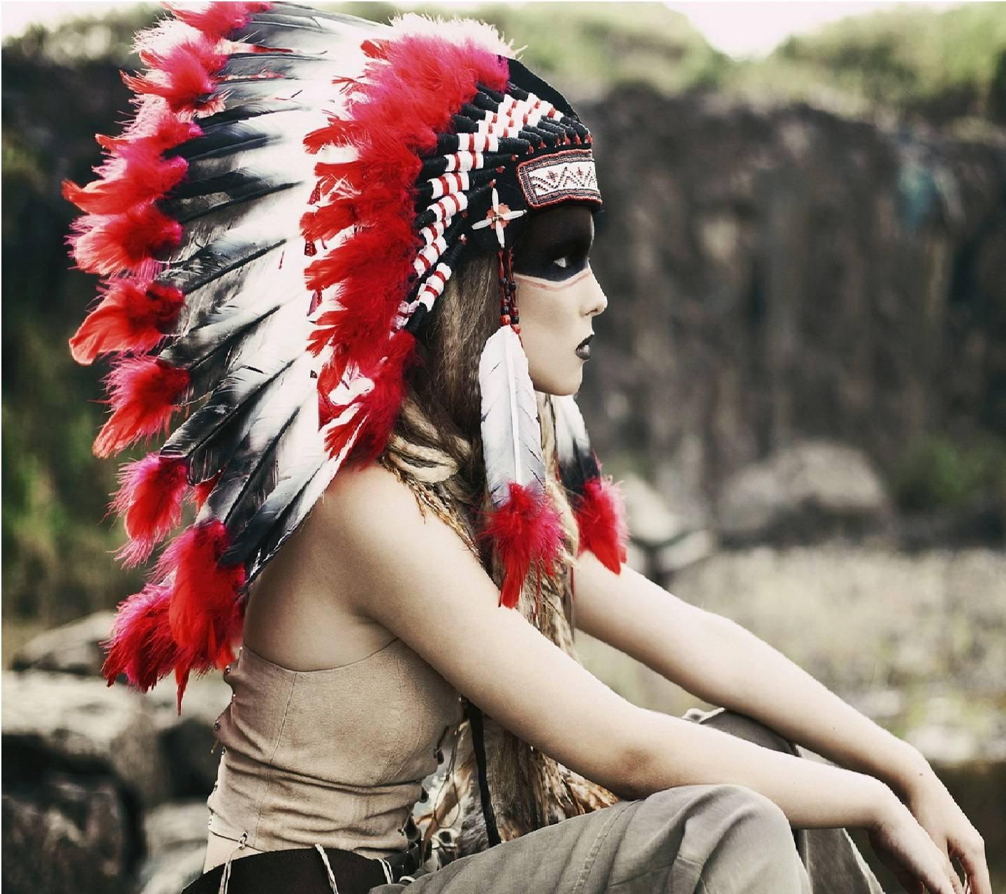 Native American Girl Wallpaper By Artist3000 31 Free On Zedge