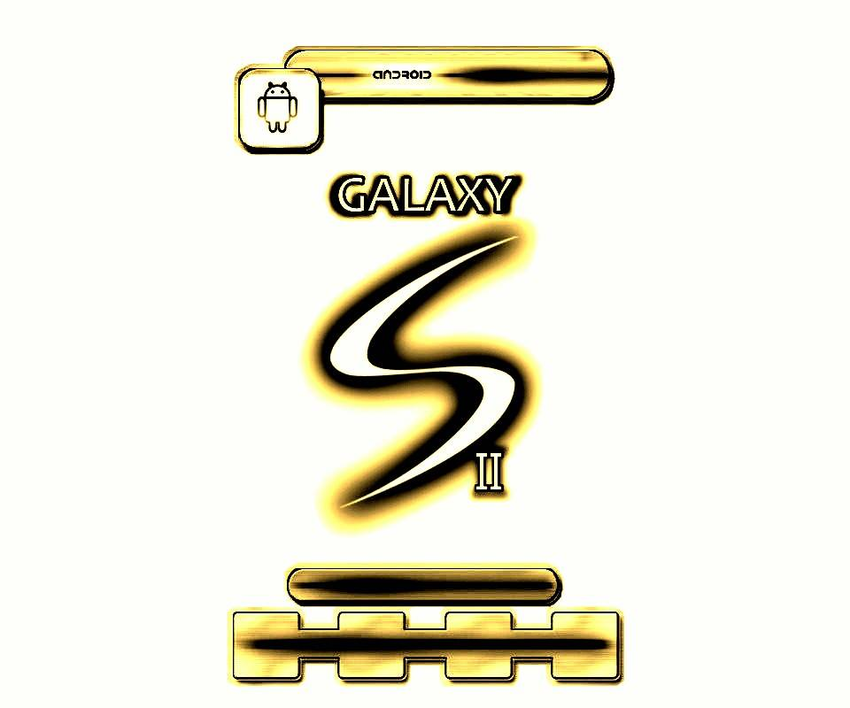 White Gold Galaxy S2