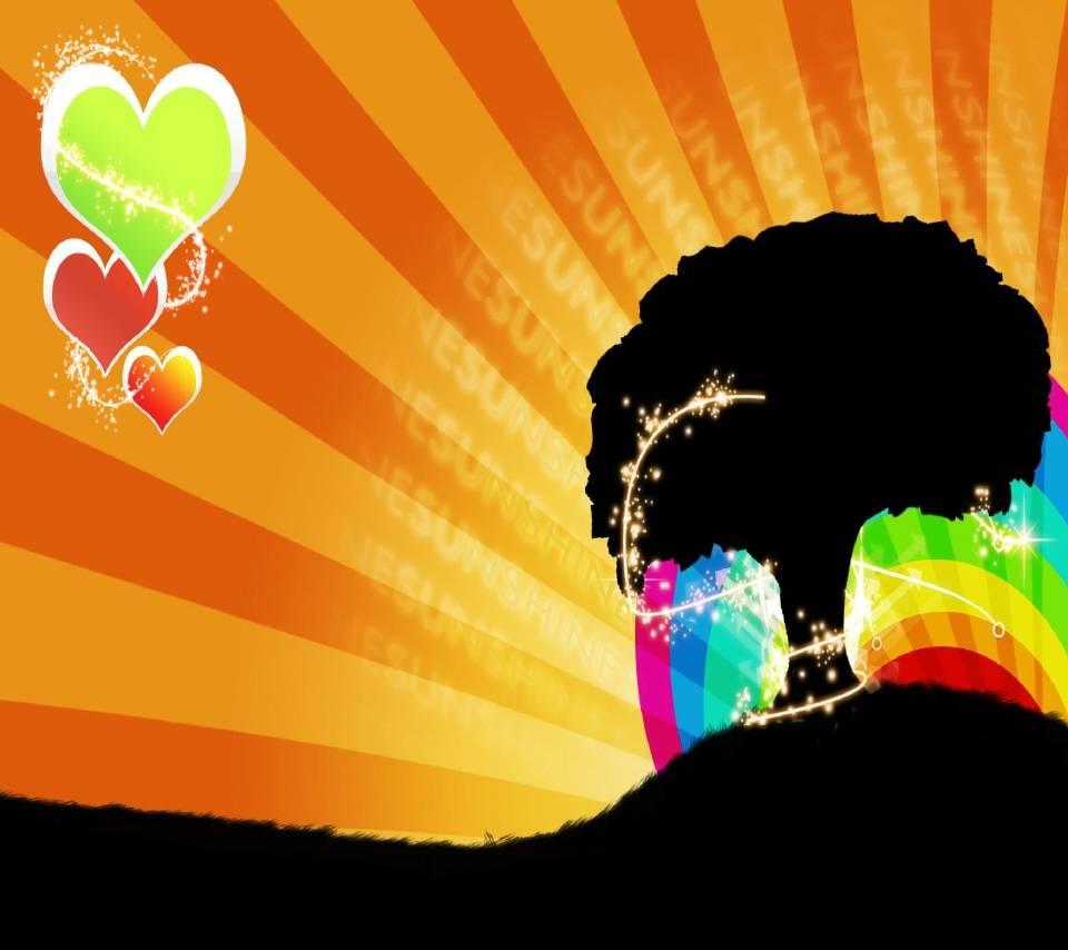 Sunshine  Rainbow