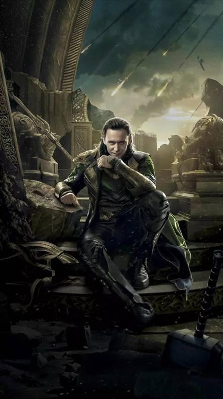 Loki Wallpaper Wallgiftwatchesco