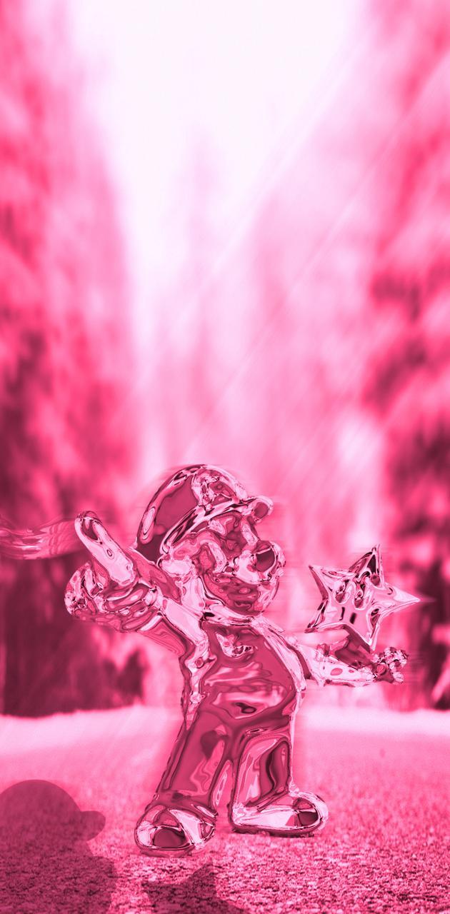 Pink Metal Mario