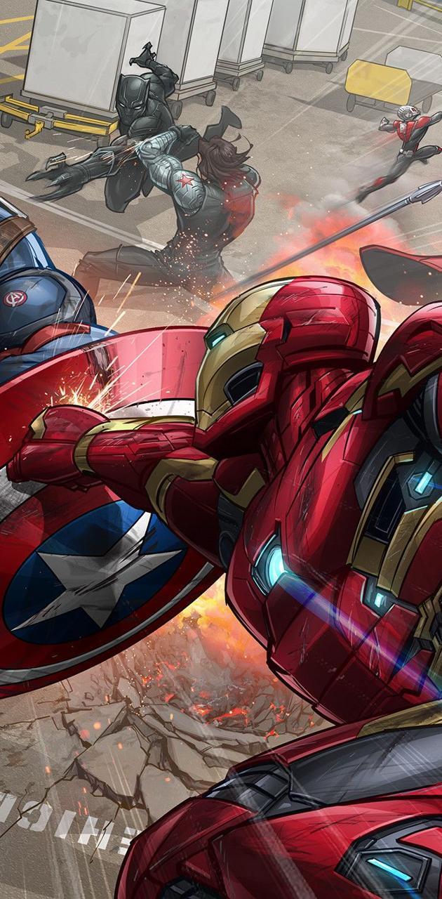 Cap vs ironman