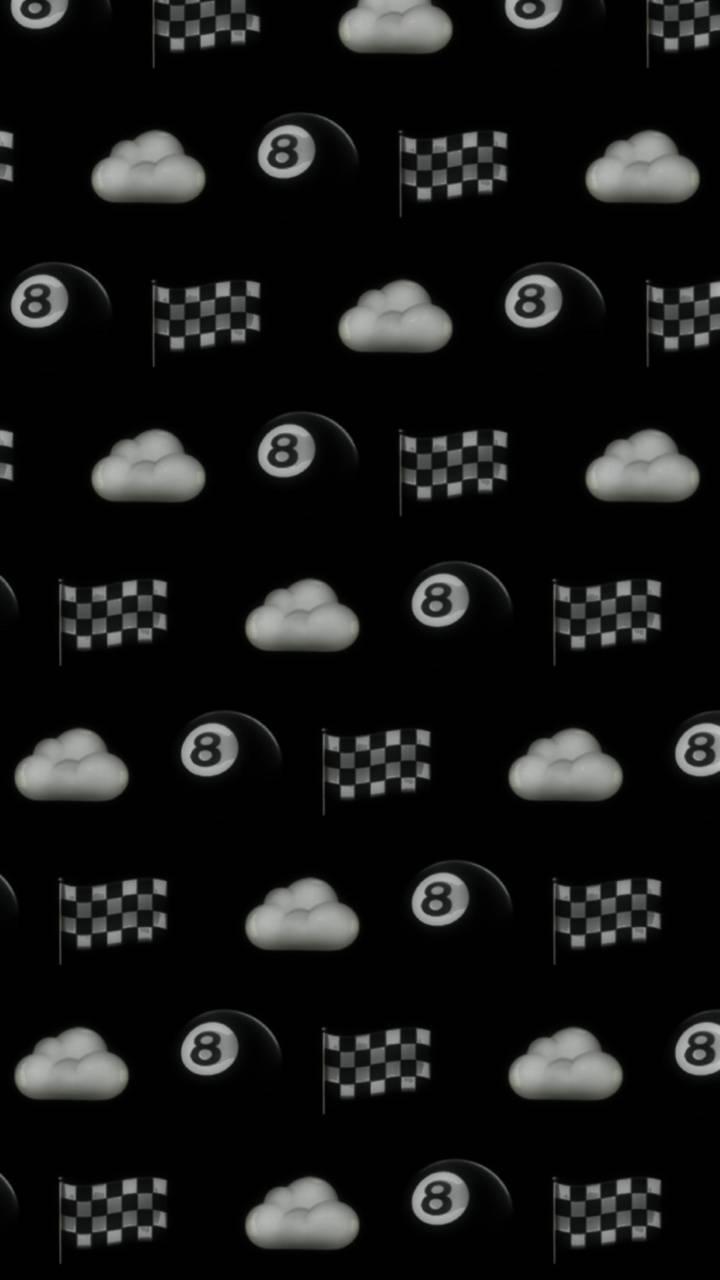 Dark emojis