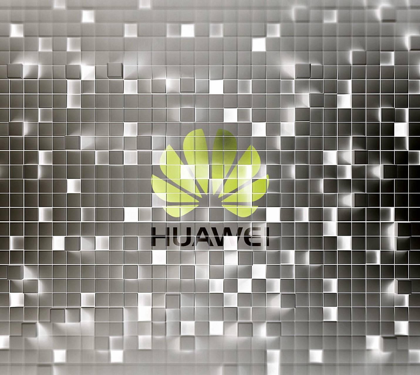 3D Cubes Huawei Logo