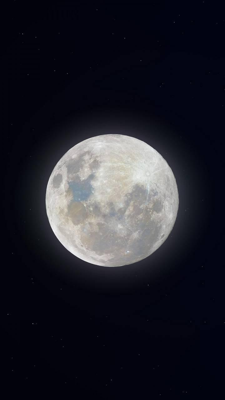 Super Snow Moon 4K