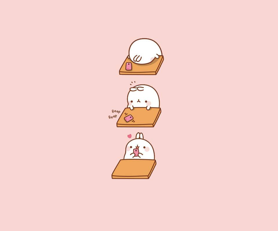 Phone Bunny Molang