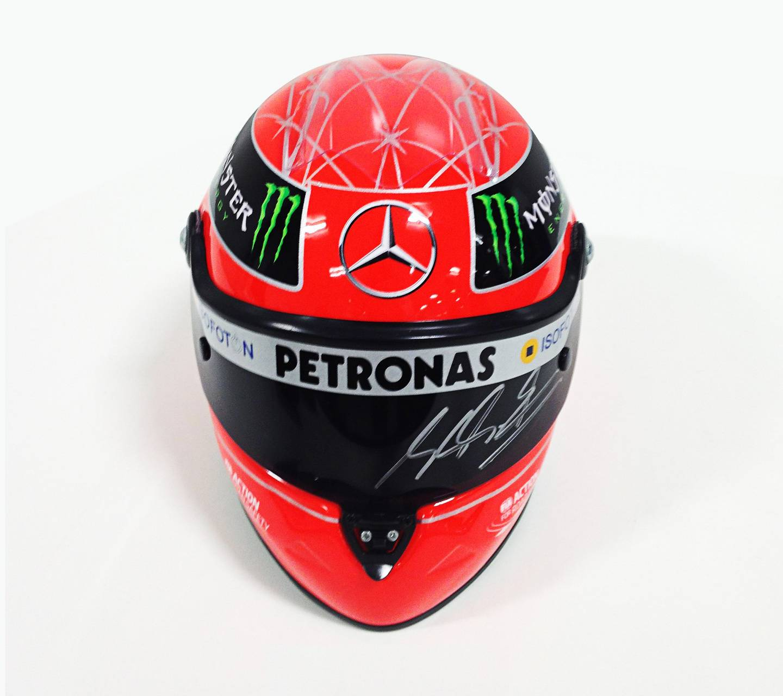 Schumacher Helmet