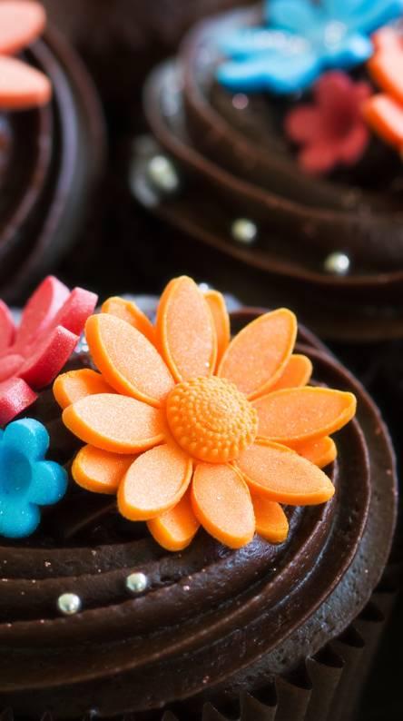flower sweet cakes