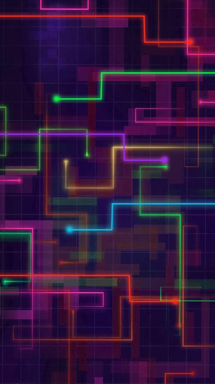 Grid Wallpaper By K A R M