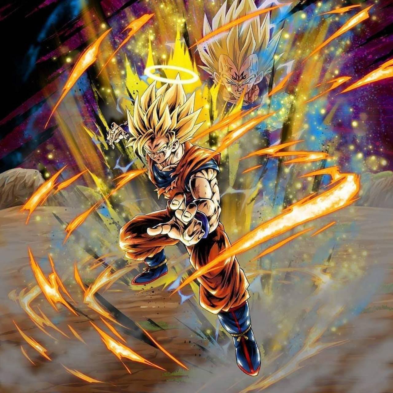 Ssj2 Goku Wallpaper By Dragonballart Fe Free On Zedge