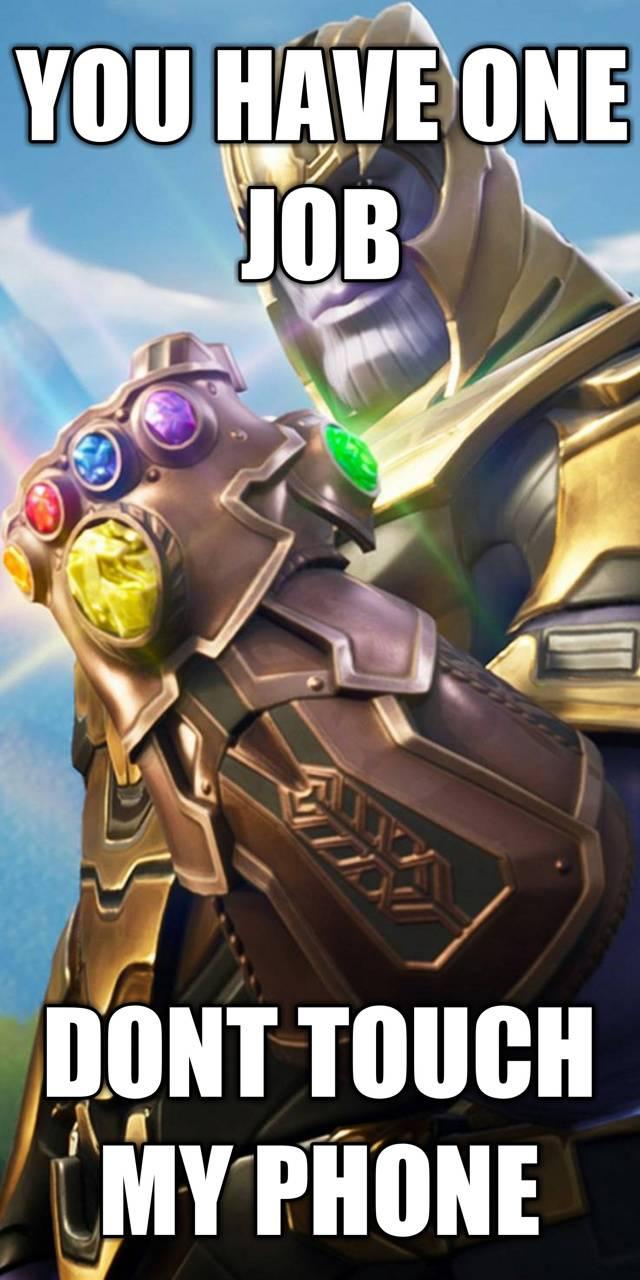 Thanos Lock screen