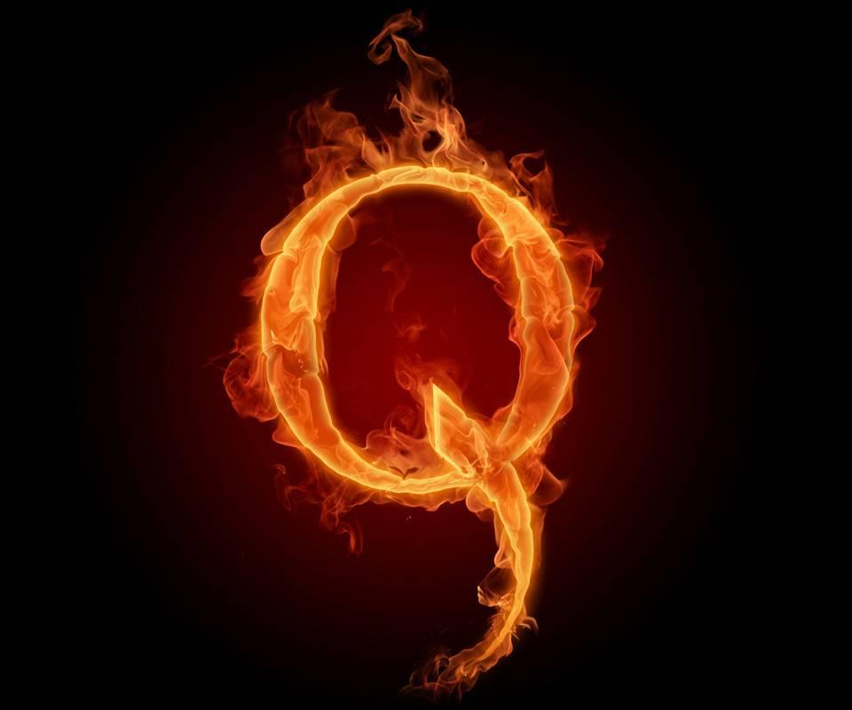 Alphabet Letter Q