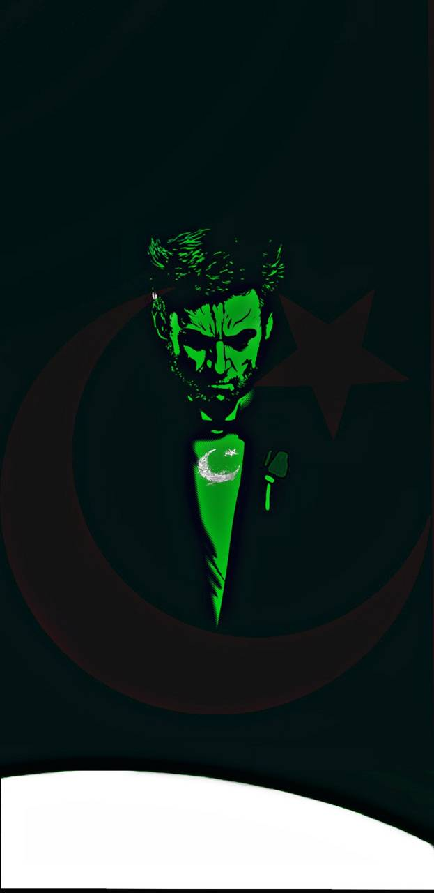 Pakistan flag X Man