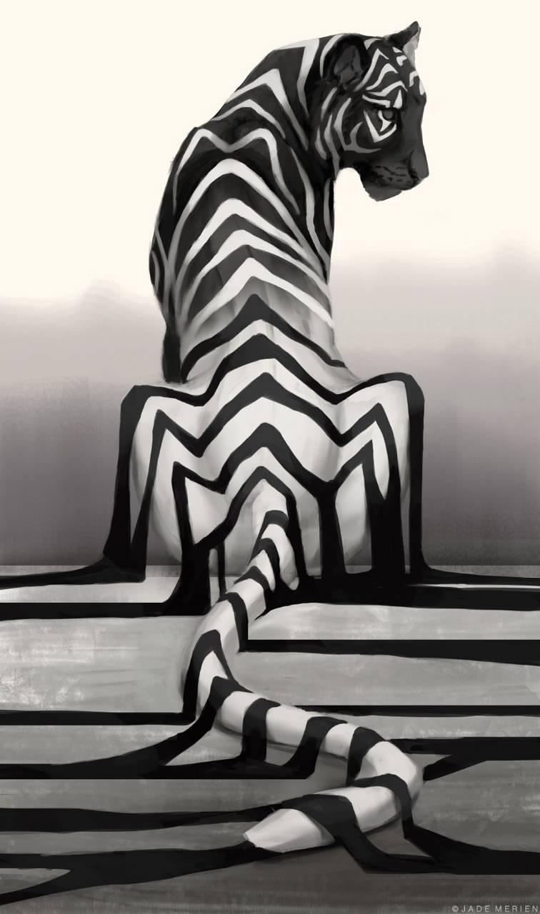 Tiger - Jade Merien
