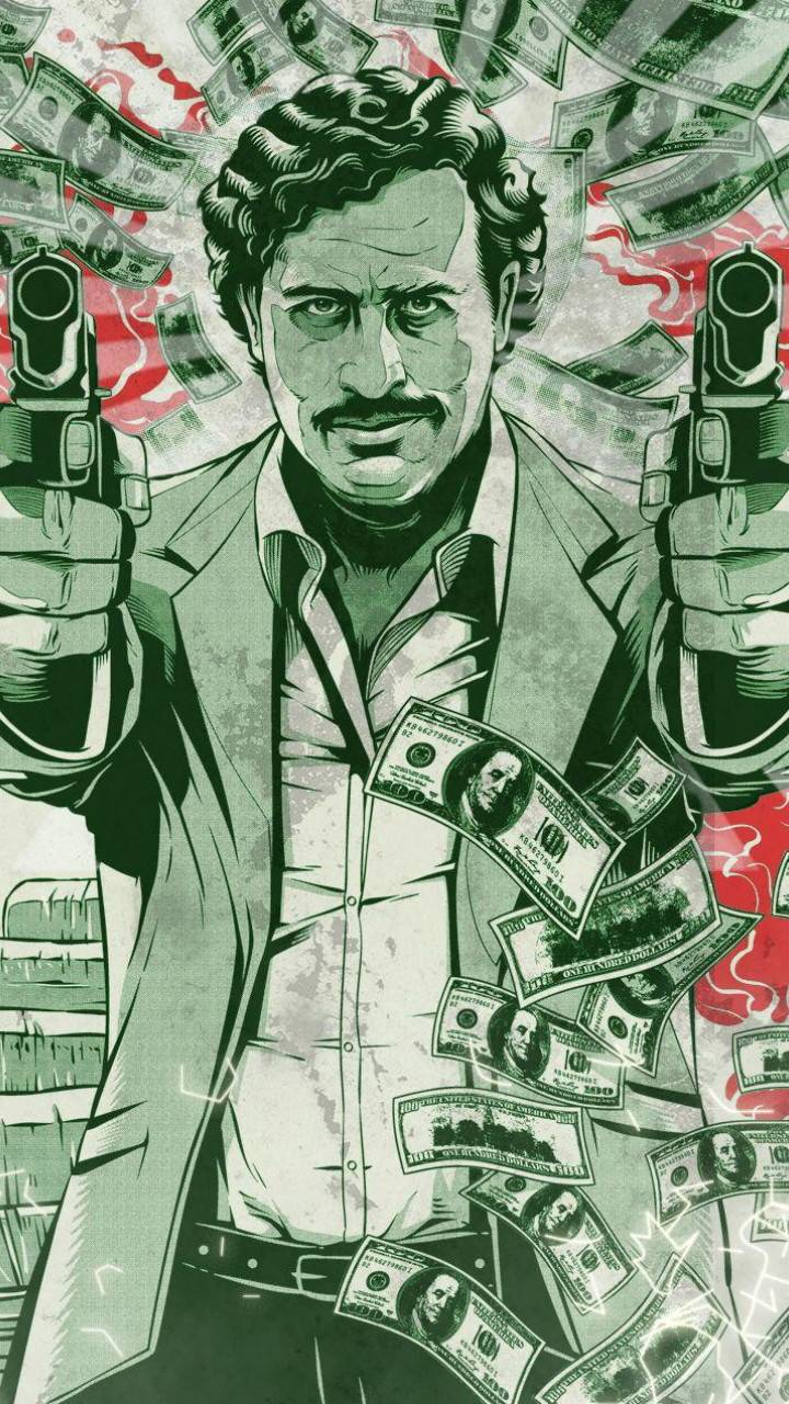 pablo escobar money wallpaper by b0ssplayaz - 0b