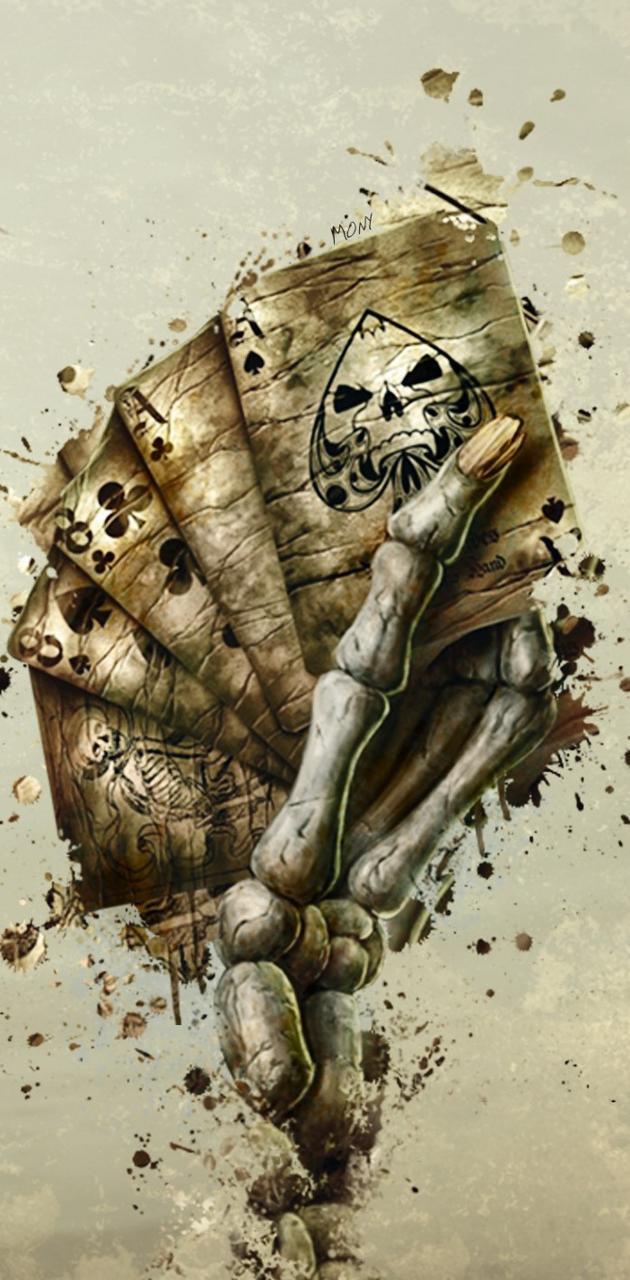 skeleton hand