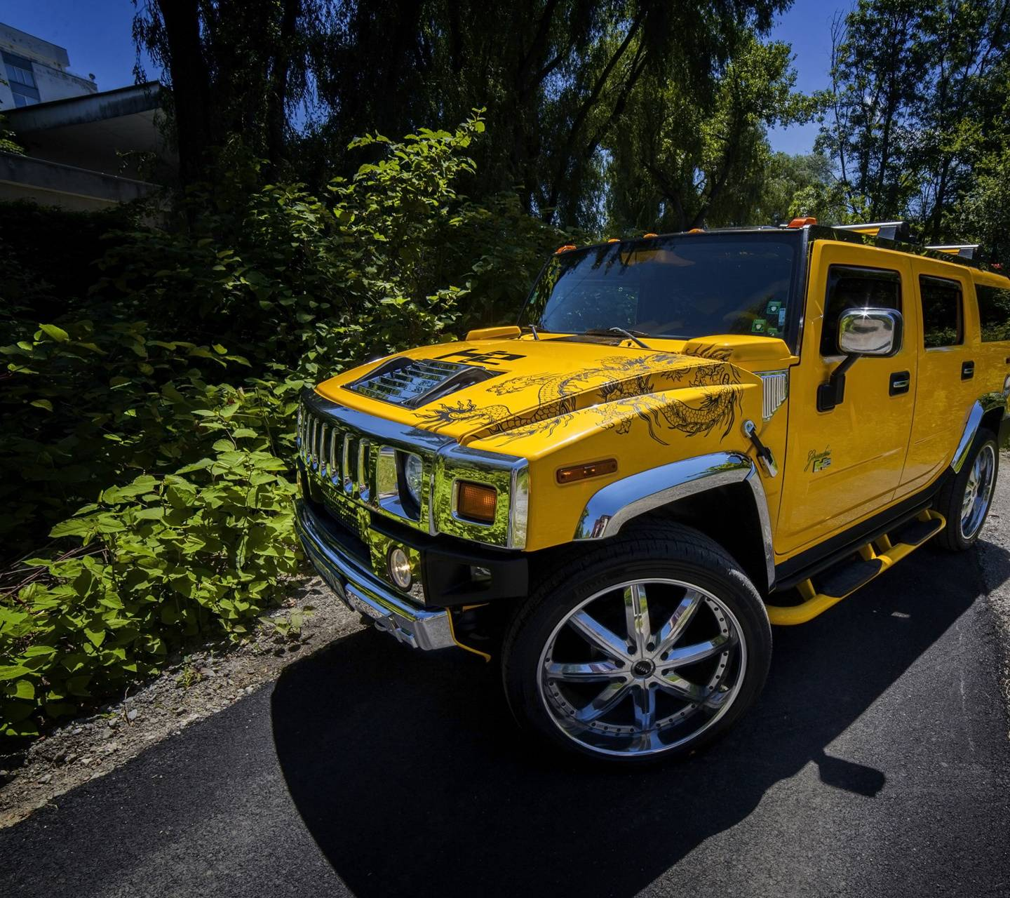 Hummer H2 Wide Wallpaper By Fendyevo