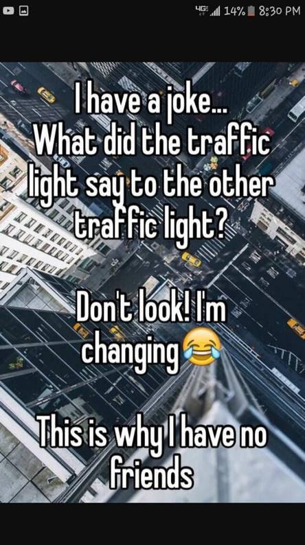 Traffic joke