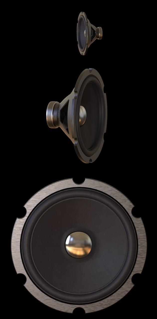 speakers rotating