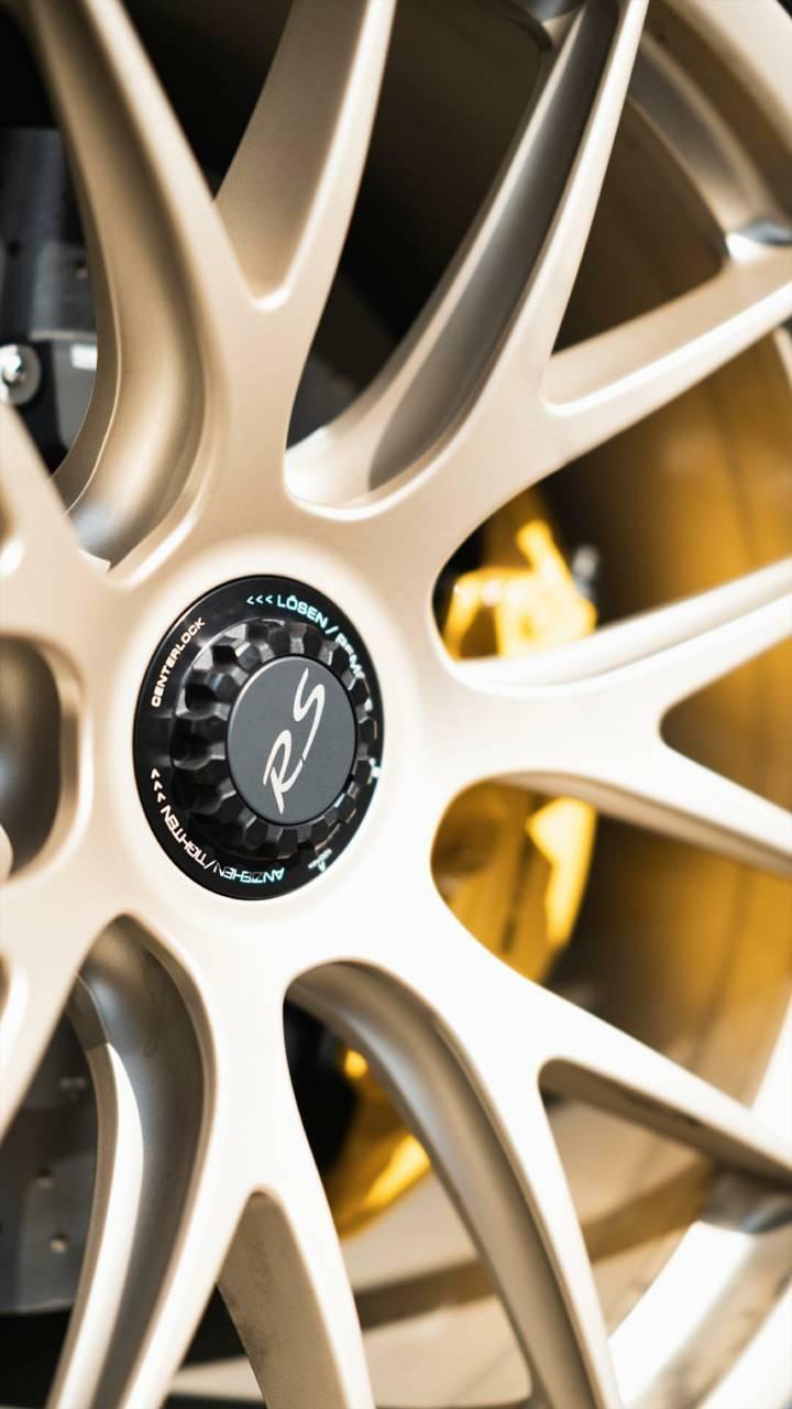 Porsche RS wheel