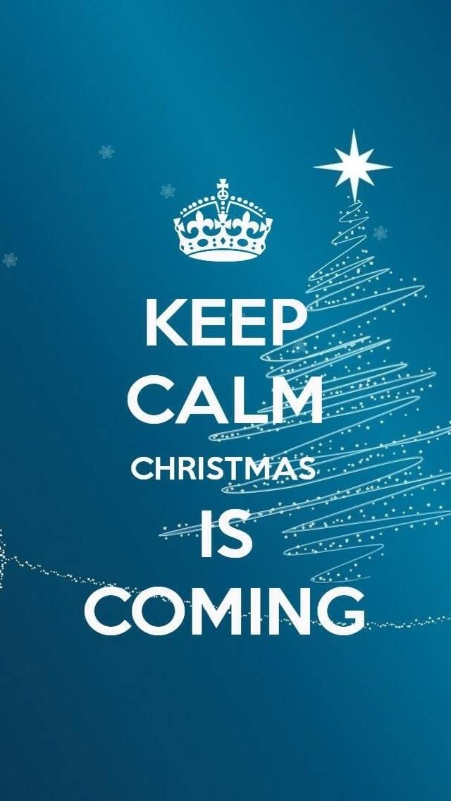 Keep calm Christmas Wallpaper by electric_girl - 35 - Free on ZEDGE™
