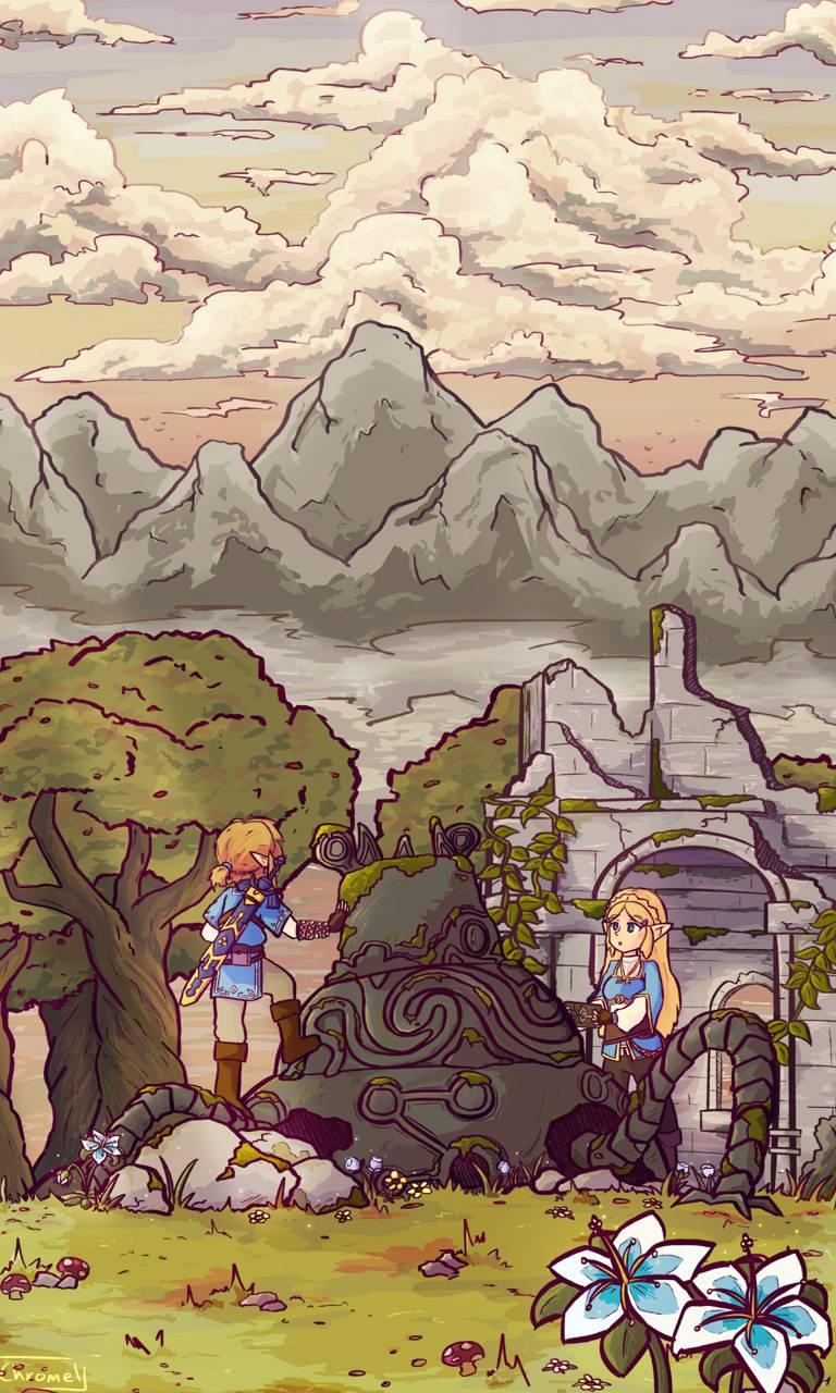 Guardian Zelda Link