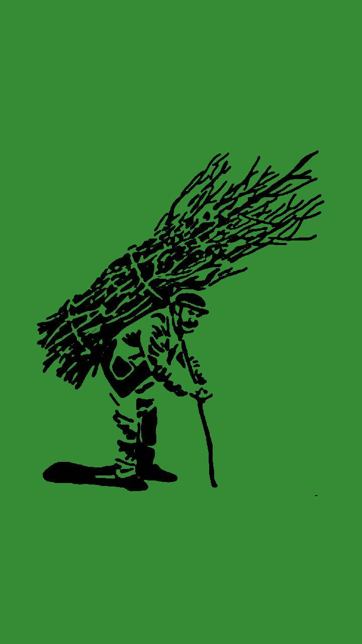 Sticks Guy Green