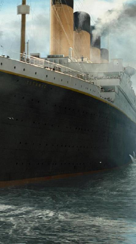 Titanic Sets Sail