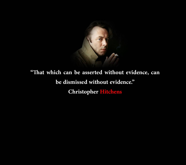 Hitchens quote