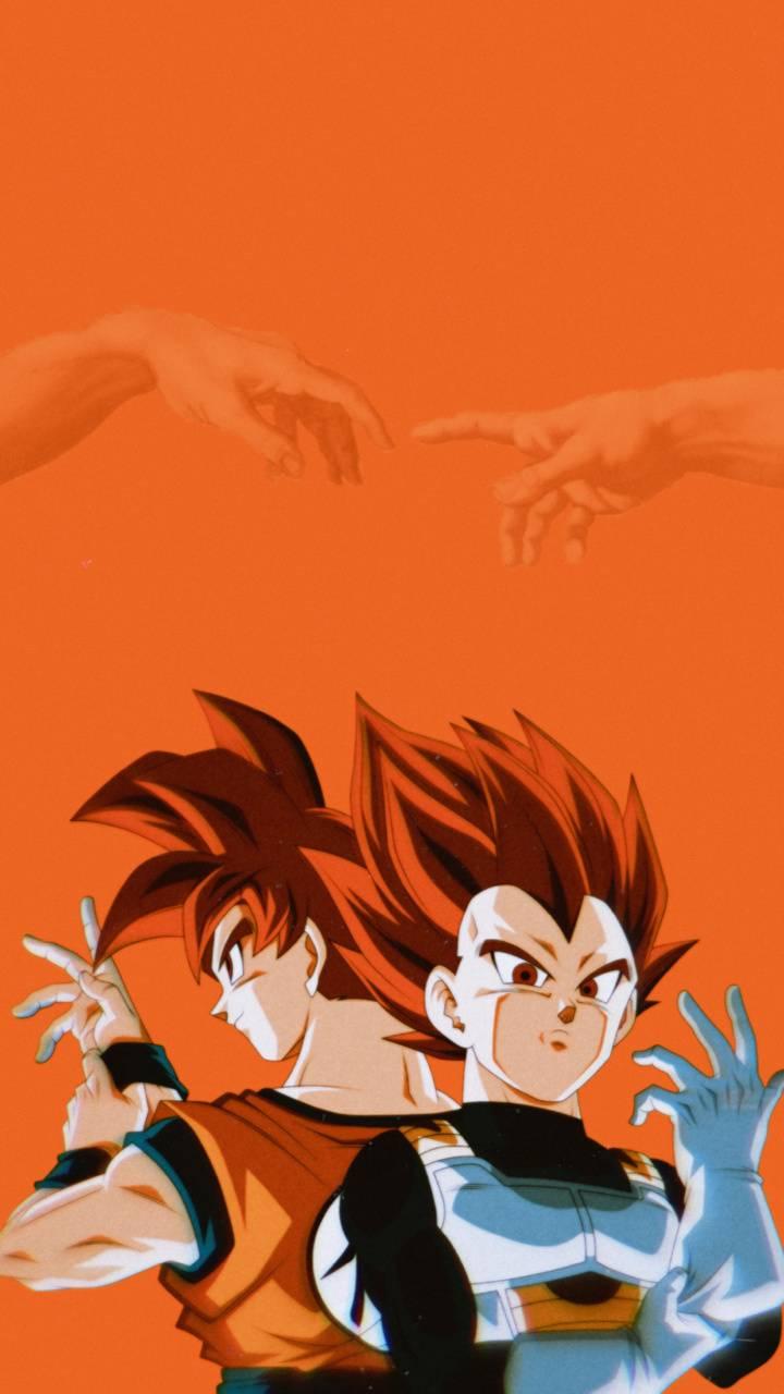 Ssg Goku and Vegeta