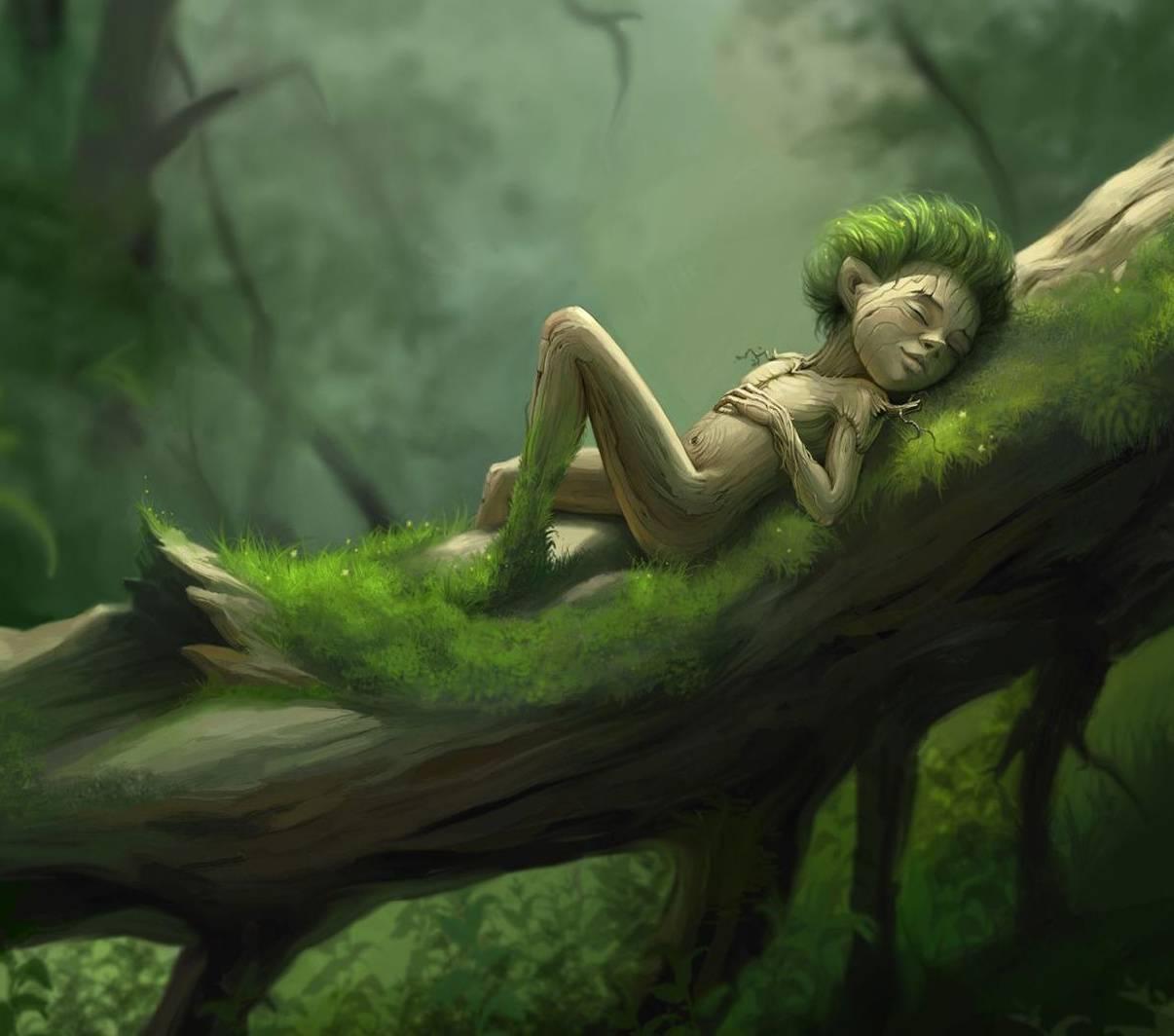 wooden creature