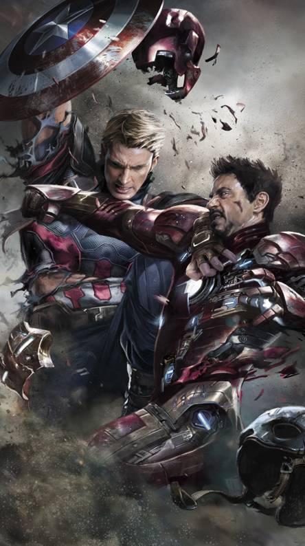 Captain Vs Iron Man
