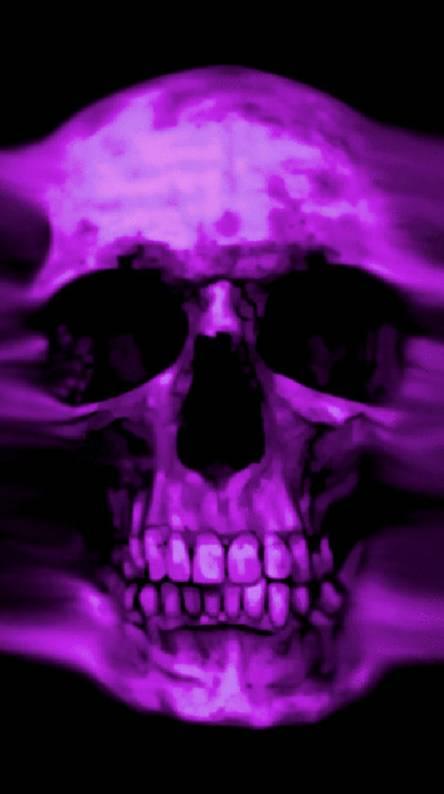 purple skull wallpapers free by zedge