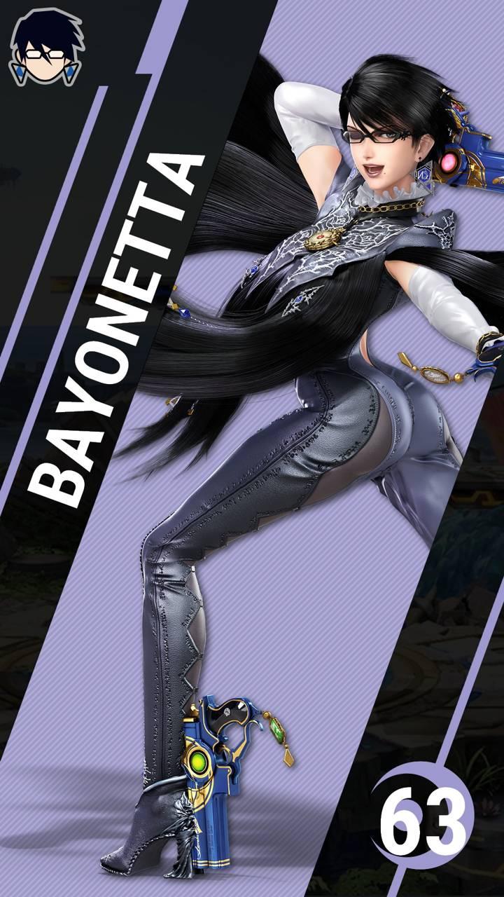 SSBU Bayonetta