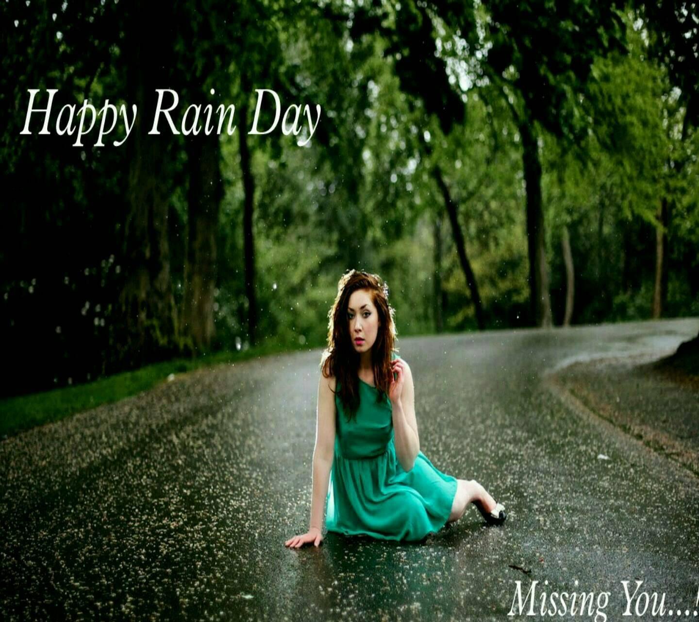 Miss you in Rain