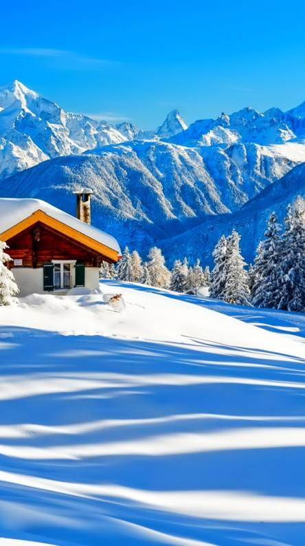 house in alps