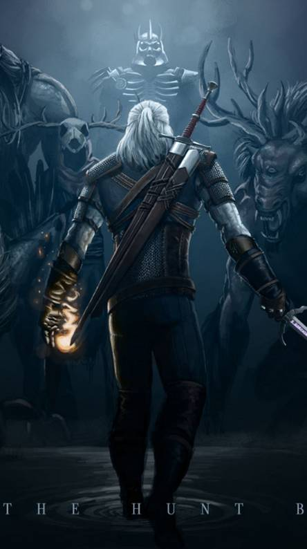 Geralt Wallpapers Free By Zedge