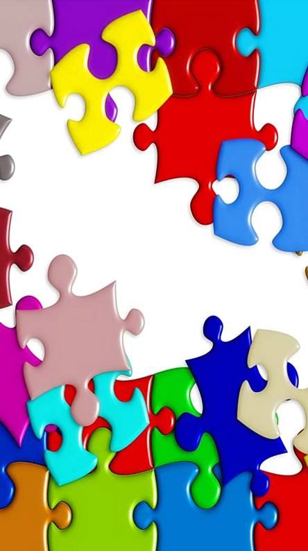 Colorful Puzzle Wallpapers