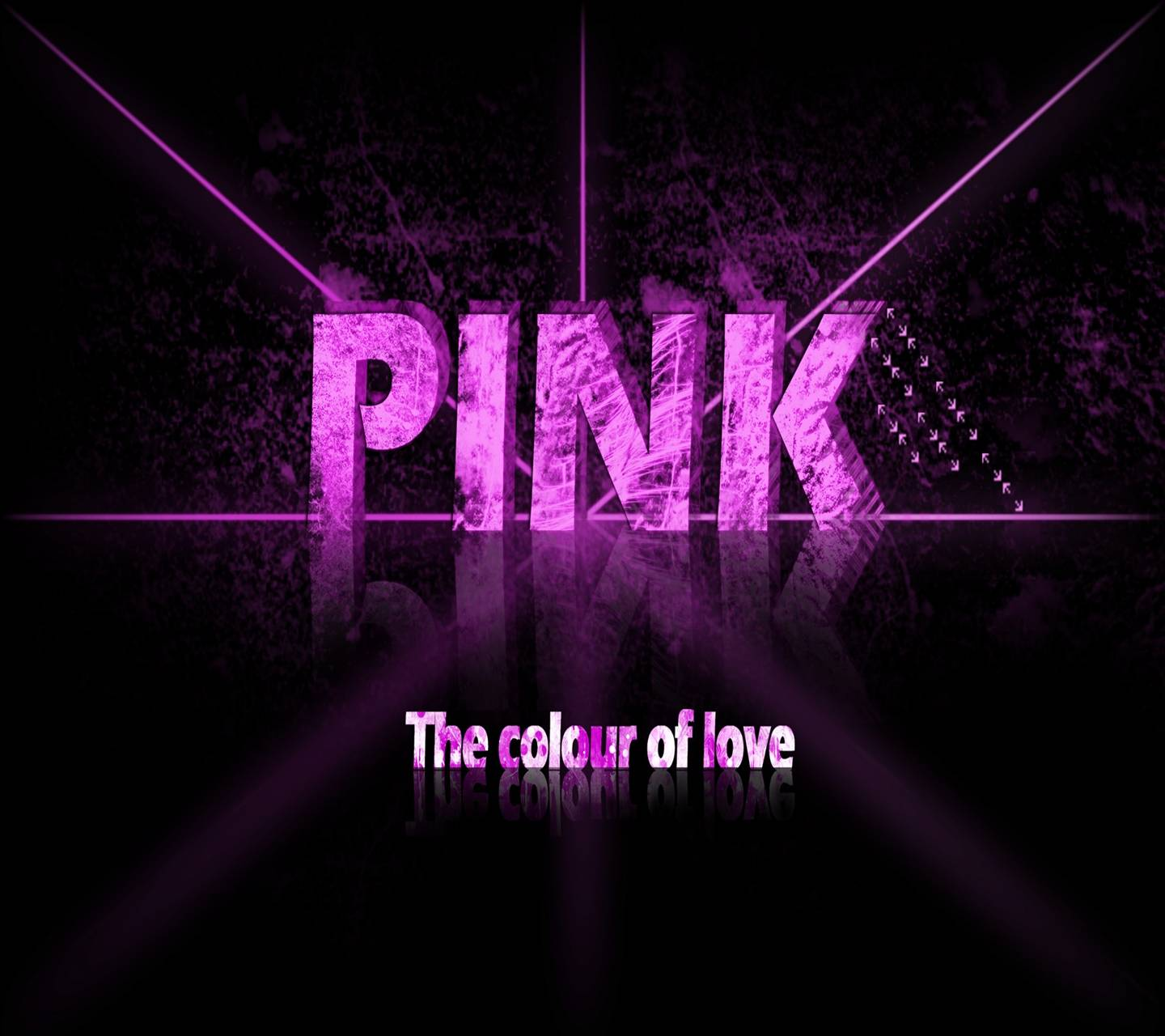 Pink Color Of Love