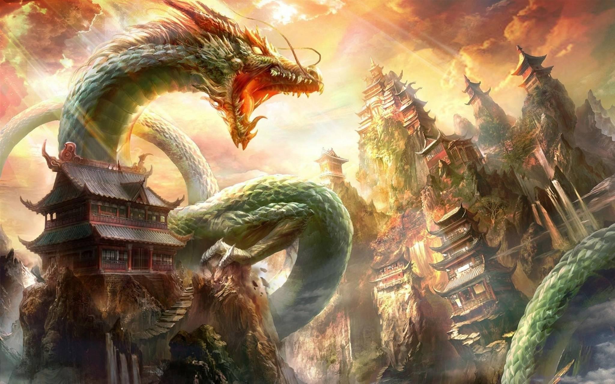 Dragon mouth house