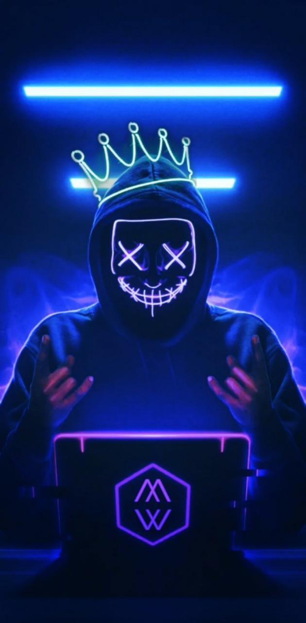 MW neon anime hacker