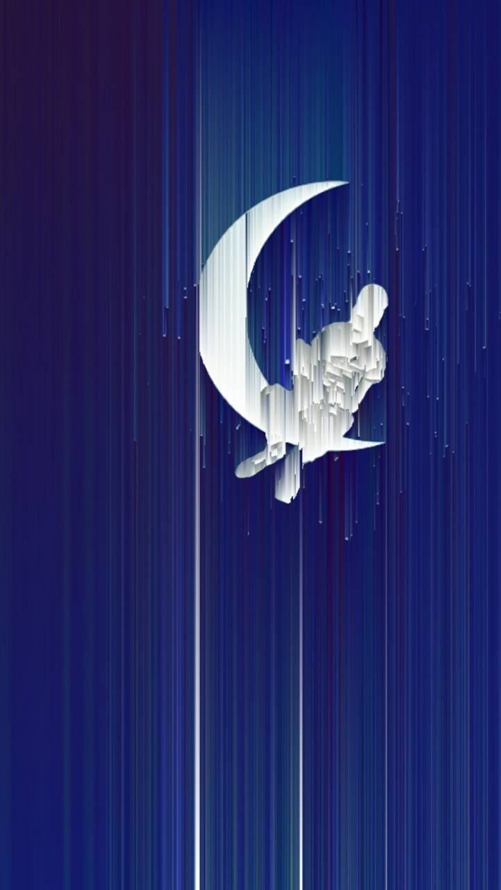 The boy on the moon