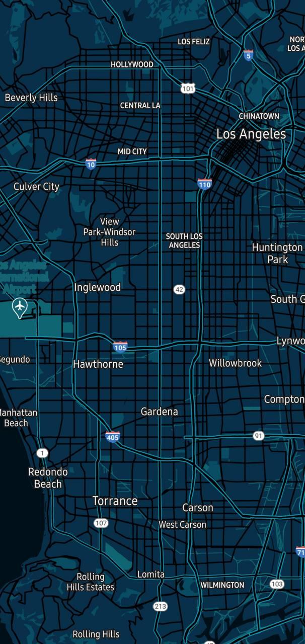 Los Angeles blue