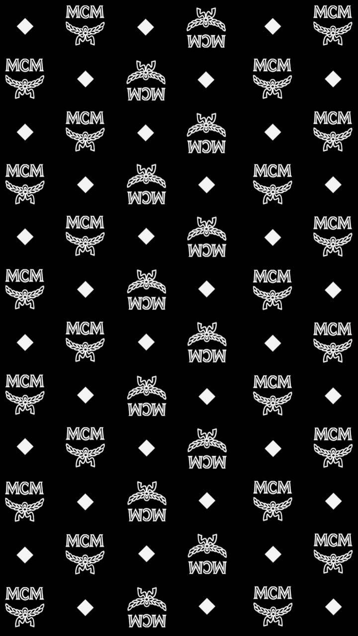Black MCM Monogram