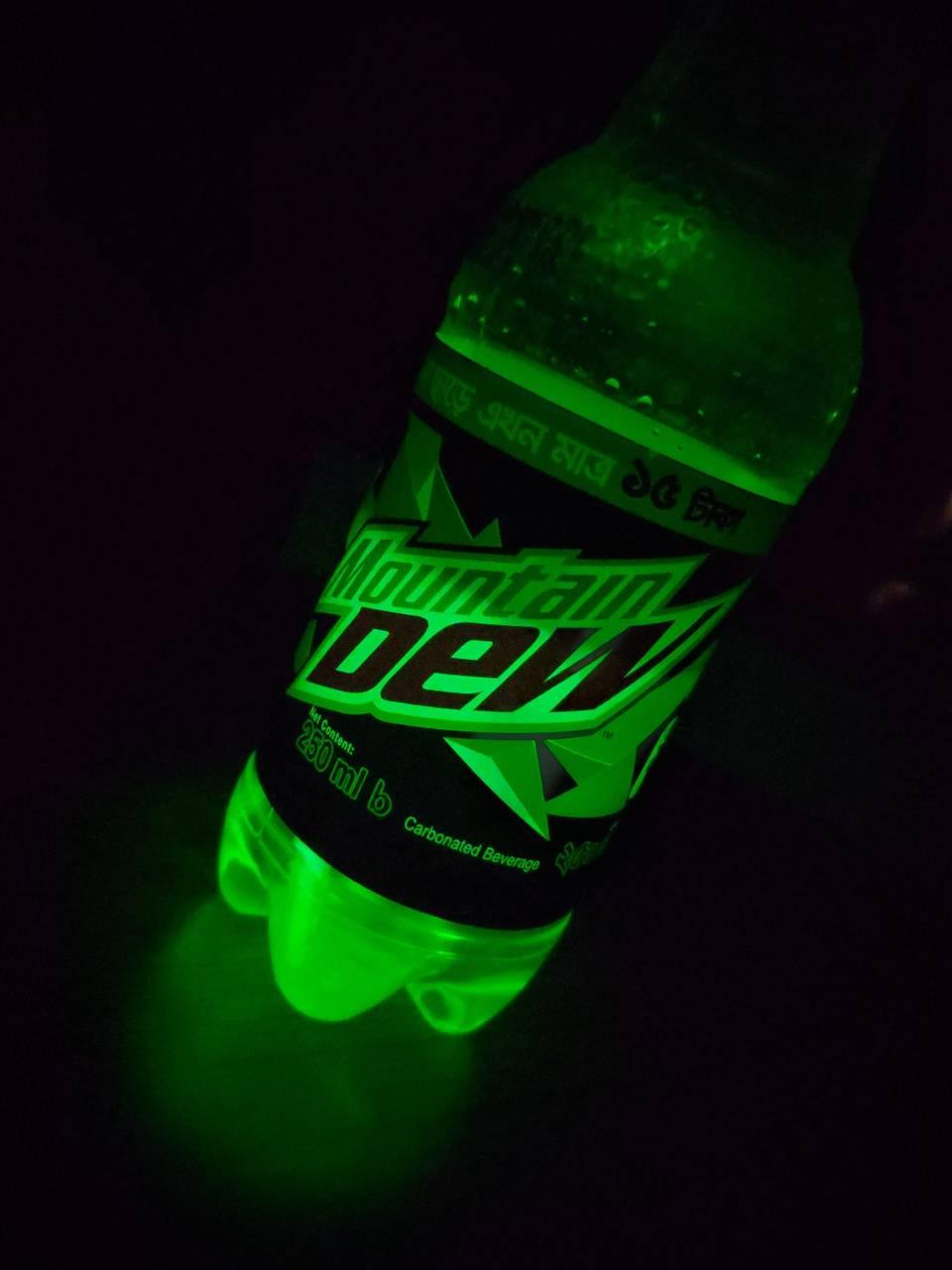 DEW bottle