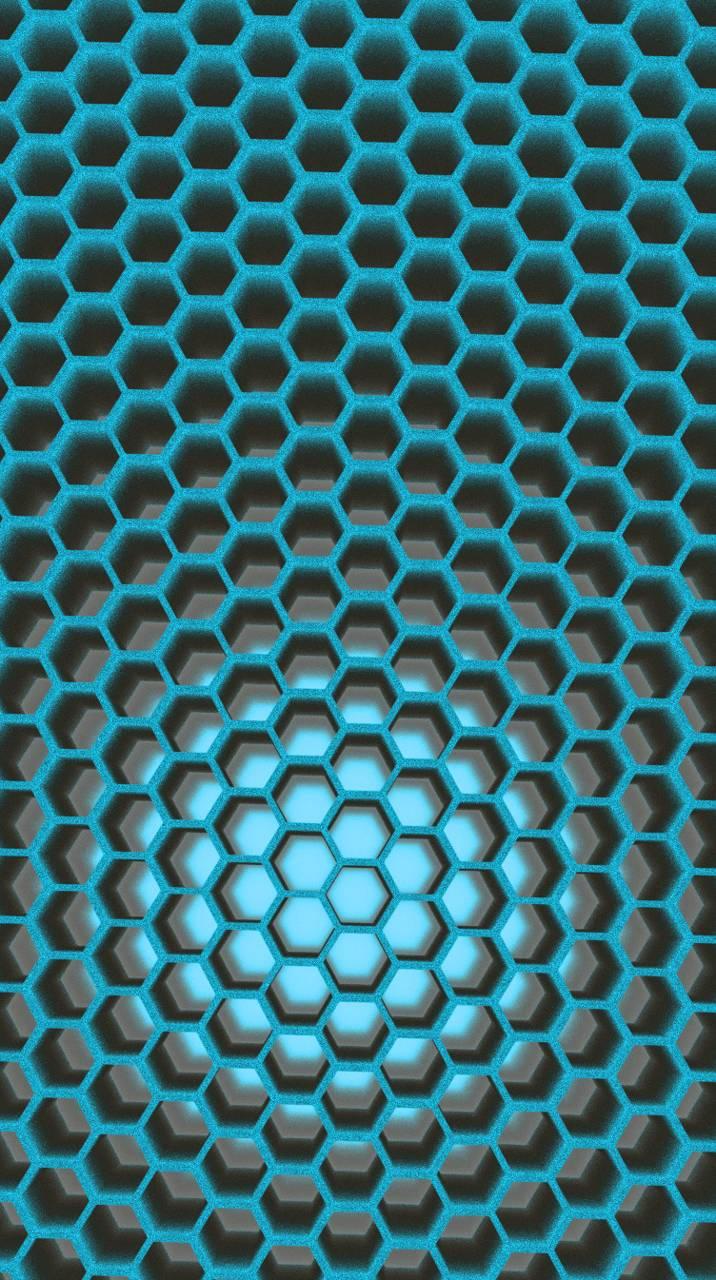Honeycomb Teal