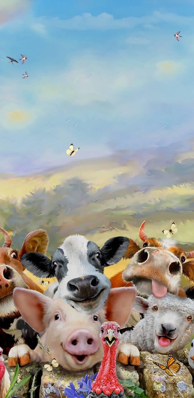 Funny Farm Selfie