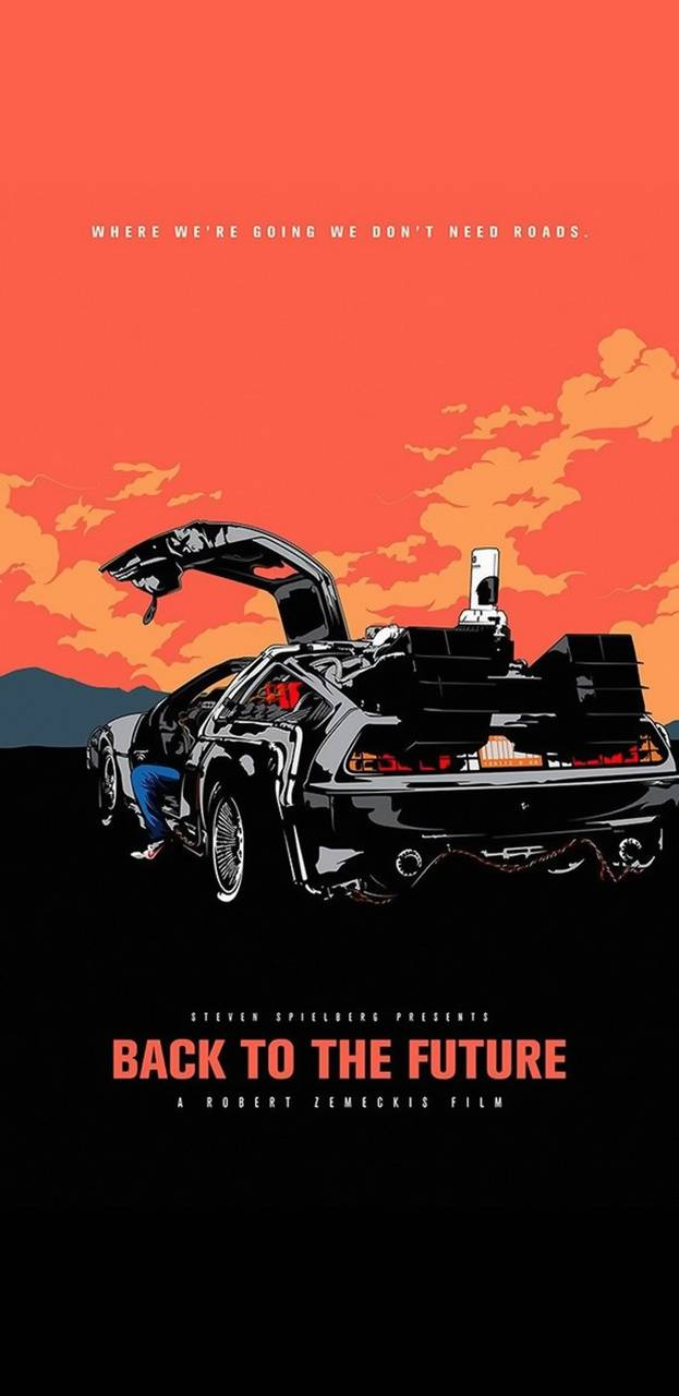 Back To The Future Wallpaper By Puggaard D5 Free On Zedge